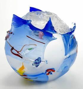 Judson Guérard Hand Blown Art Glass Sculpture