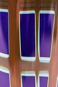 Charles Lotton Art Glass Bottle and Vase