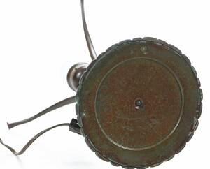Tiffany Bronze Table Lamp and Shade