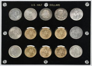U.S. Silver Commemorative and Mexican Gold Coins