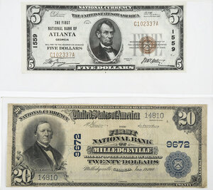 Two Georgia National Notes