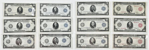 Dozen Series of 1914 Federal Reserve Notes