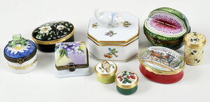 31 Assorted Continental and British Small Boxes