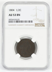 1804 Half Cent