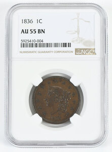 1836 Large Cent