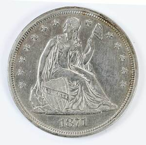 Three Seated Liberty Dollars