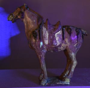Large Tang Dynasty Style Sancai Glazed Horse