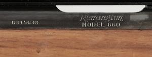 Remington Model 660 Bolt Action Rifle