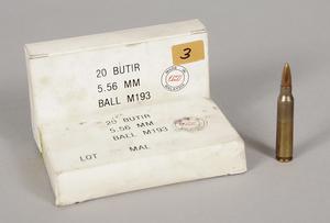 40 Rounds of 5.56mm Ball M193 Ammunition