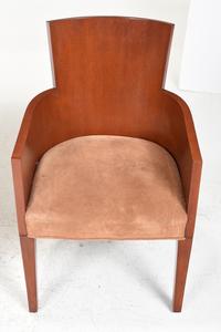 Set Eight Ralph Lauren Art Deco Style  Dining Chairs