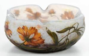 Daum Nancy Cameo Art Glass