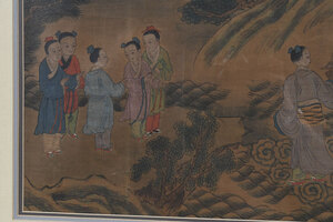 Chinese Silk Painting of Immortals