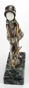 Etling Studios, Art Deco Bronze