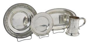 Four Silver Hollowware Items