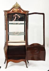 Verenis Martin Style Curved Glass Vitrine