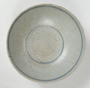 Chinese Blue and White Swatow Ware Bowl