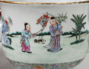 Successful Sons Finely Enameled Tea Pot