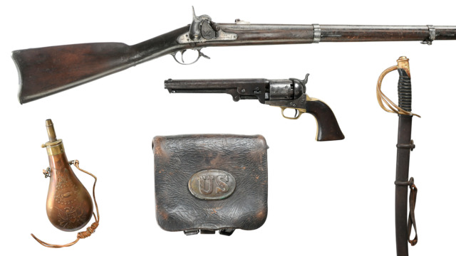 Historic Firearms and Militaria Auction | December 6, 2018