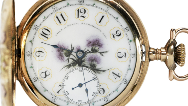 Pocket Watch Auction | July 30, 2021