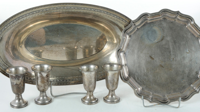 April Online Only Silver Auction